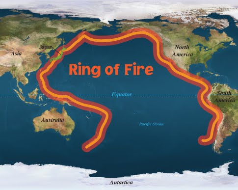 Volcanoes And The Ring Of Fire