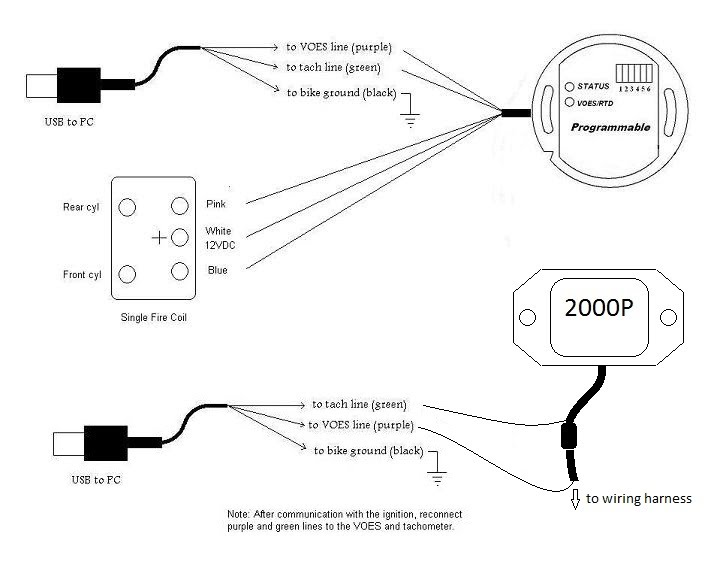 VRUSB2000i schematic installation vrusb2000i Simple Harley Wiring Diagram at webbmarketing.co