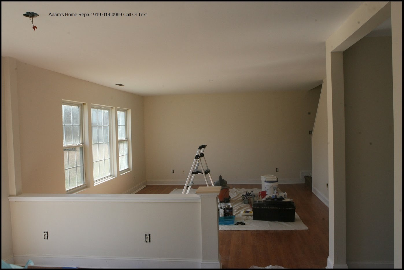 wake county wall and ceiling repair taping finishing texture patch