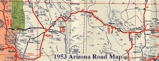 Map Of Old Route 66 Arizona.Route 66