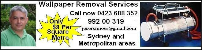 wallpaper removal service call 0423688352