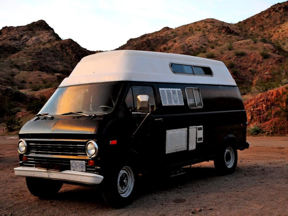 Travel In Style 1974 Ford Van For Sale In South America