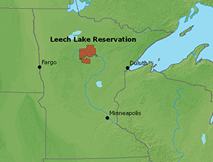 Leechlakemapg waitwhere is the leech lake indian reservation its in the state of minnesota see these maps sciox Image collections