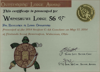 2014 Outstanding Lodge Award