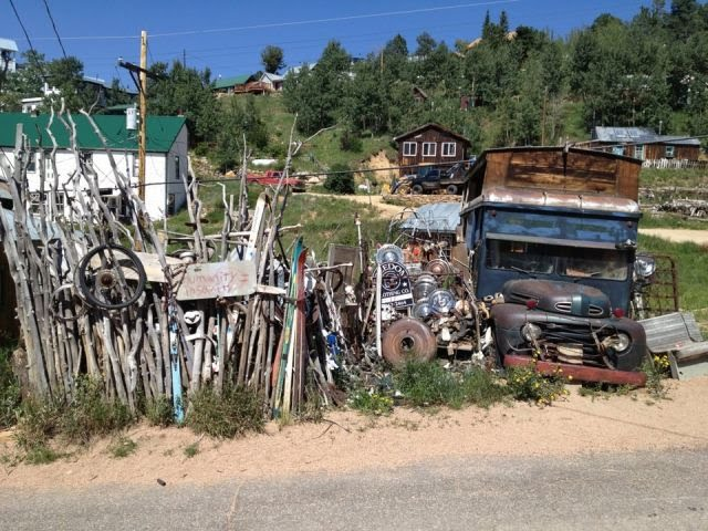 Ward, Colorado, Villages