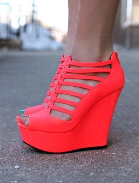 ee85997d7aedc5 Wedge heels are flush just like a high heel would be