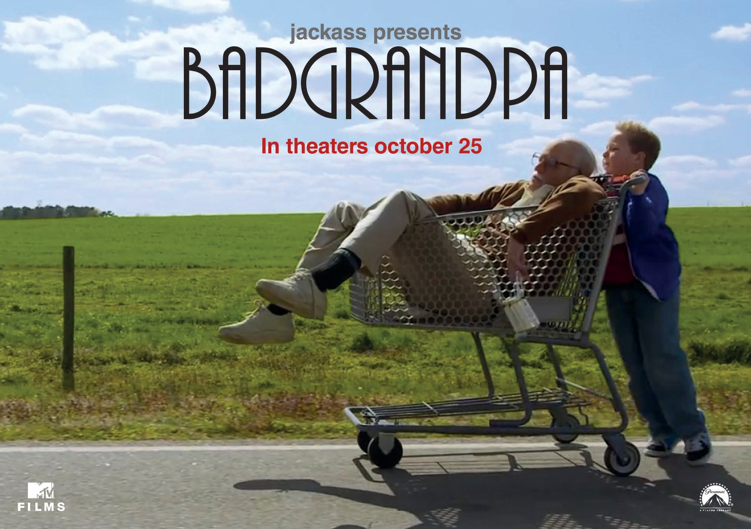 Bad Grandpa Movie Watch Online