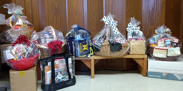 Theme Baskets for TLC Child Care Fundraiser