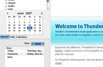 Lightning for Mozilla Thunderbird