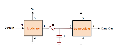 Bell 202, 1200 baud Demodulator in an ATTiny10 - Wayne's Tinkering Page