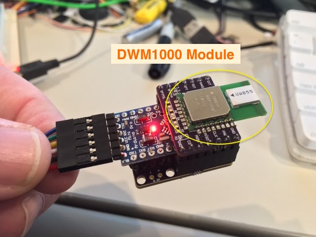 UWB Ranging with the DecaWave DWM1000 - Wayne's Tinkering Page