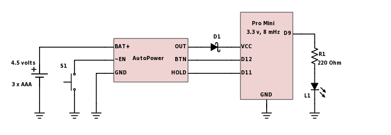 Pushbutton Power Switch For Arduino