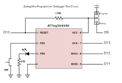 AVR/Arduino Hardware Debugger on the Cheap - Wayne's Tinkering Page