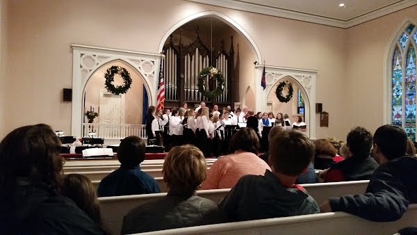 The Washington County Children's Chorus performs their Christmas Concert in 2014