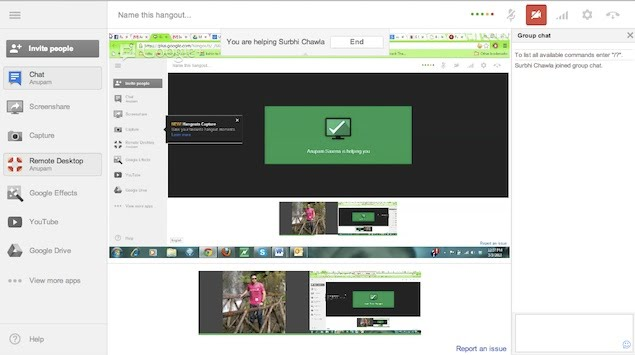 how to use google hangouts on pc