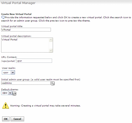 Manage Virtual Portals