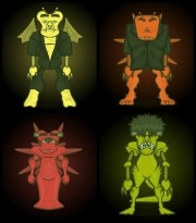 monsters creatures web tools for kids