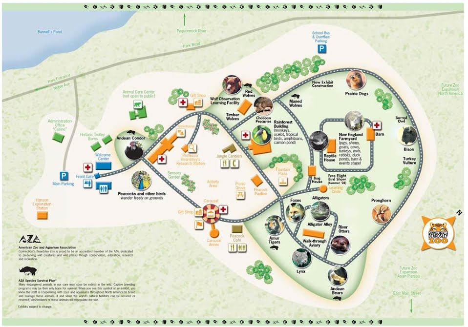 Alligator Alley Map Zoo Map   Animals I Have Seen In Zoos Alligator Alley Map