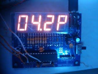 atmega_capmeter with open source firmware measuring 4 pF capacitor