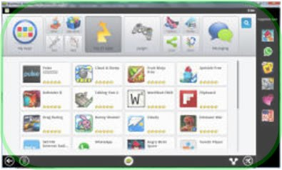 Emulador Android Bluestacks para WhatsApp para PC