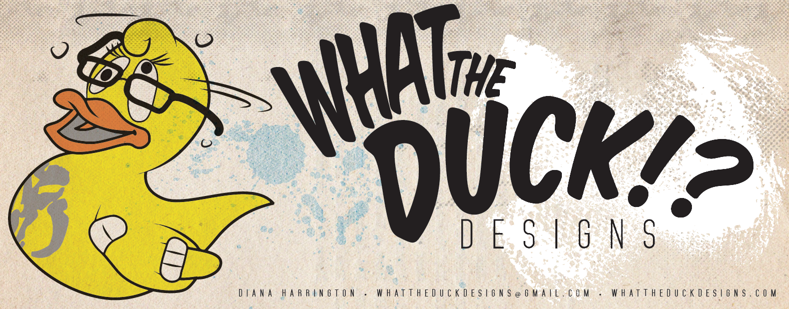 What The Duck Banner