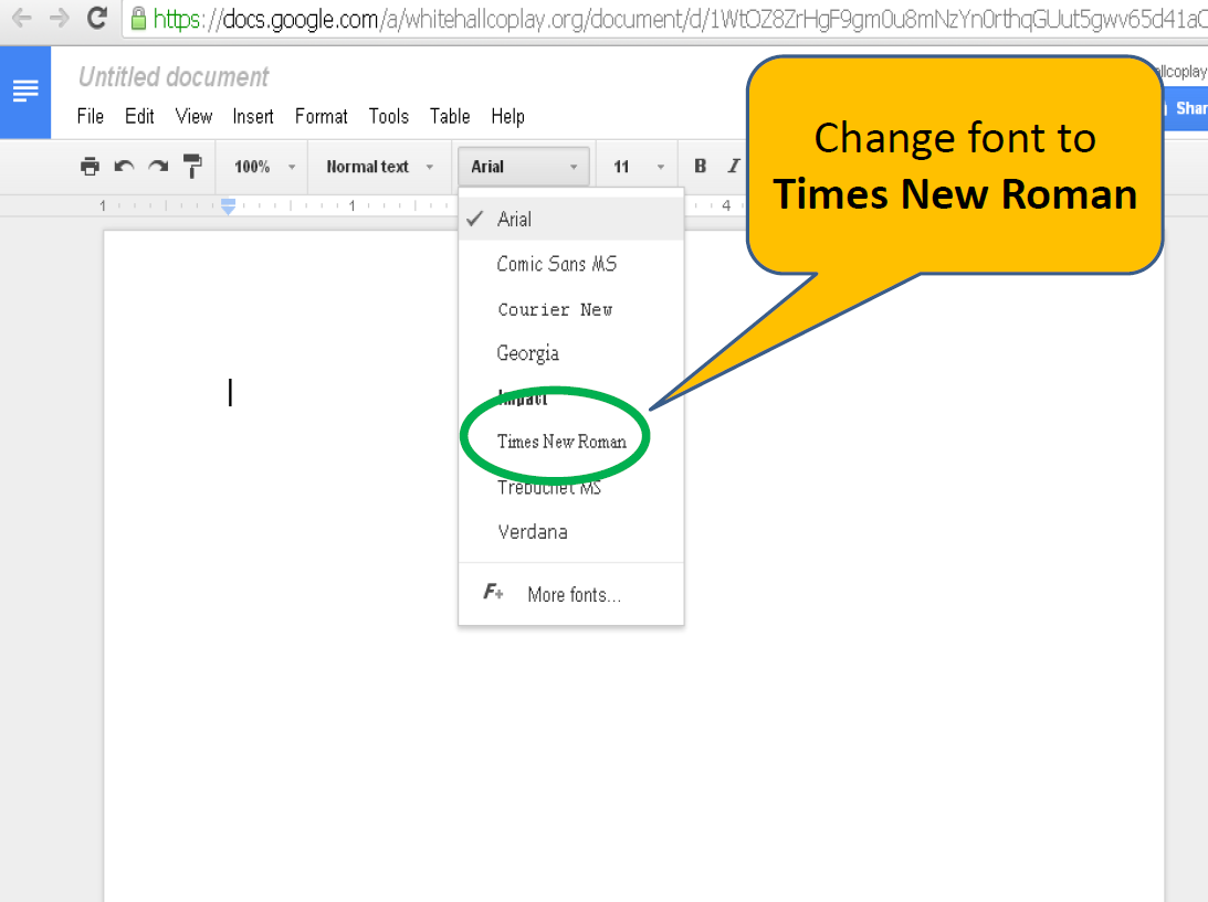 mla format for google docs whitehall coplay ms library center