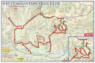 trail map - White Mountain Trail Club