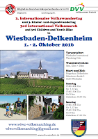 cover of the 2016 volksmarch werber