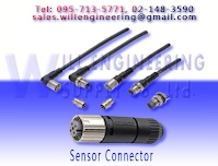 connector with cable, automotive connectors, M4-M8-M12 Connector