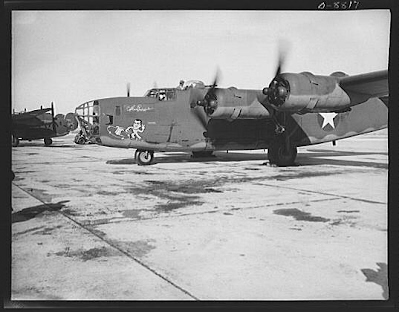When was the B-24 bomber in production?