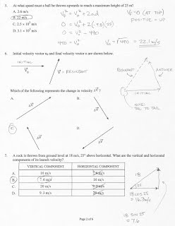 1  Kinematics practice Test Solutions - Windy Physics