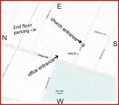 Map & Directions to Unity Spiritual Centre