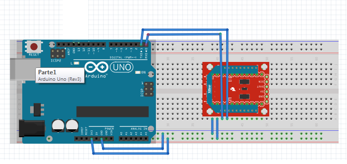 Project 3 : LCD message display using XBEE - Wireless Sensor