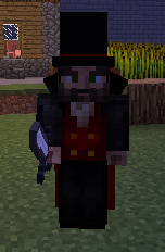 Vampire Clothing - Witchery Mod for Minecraft