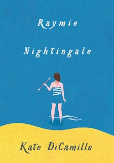 Cover of the novel Raymie Nightingale by Kate DiCamillo