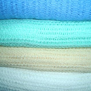 Cotton Thermal Leno Blankets