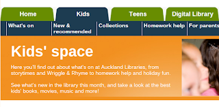 Auckland Library Kids