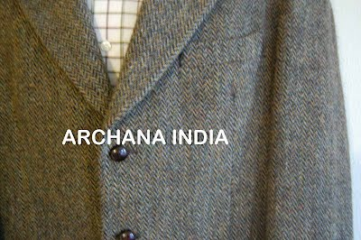 HARRIS TWEED WOOLEN FABRIC - Apparel Woolen Fabric - Archana