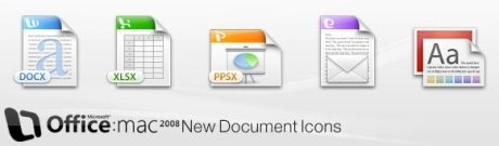 Office 2008 New Document Icons