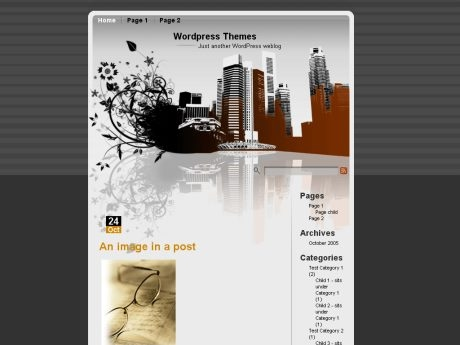 City 1.0 WordPress Theme