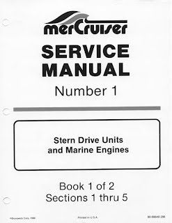 MeCrury Outboard Motors All Service Manuals (MerCruiser