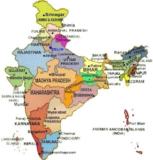 South asia project physical map and politacal map of india and world map gumiabroncs Gallery