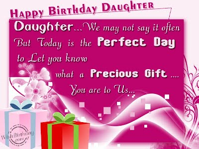 Happy Birthday Quotes For Daughter From Mom Happy Life