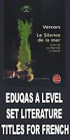 EDUQAS A LEVEL SET TITLES