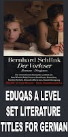 EDUQAS A LEVEL GERMAN SET TITLES