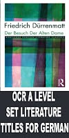 OCR A LEVEL GERMAN SET TITLES