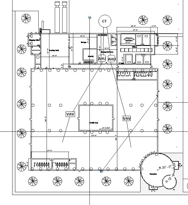 hvac single line diagram