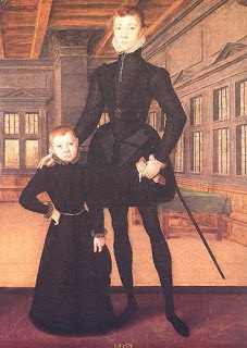 Lord Darnley and his little brother Charles
