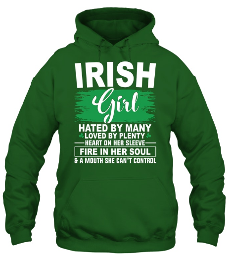 925fb5d4 Funny St. Patrick's Day T Shirts :: Irish Girl - worldtrendnew24