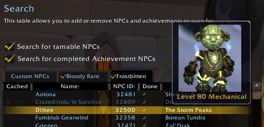 NPCScan Overlay : Map, Coords, Compasses : World of Warcraft